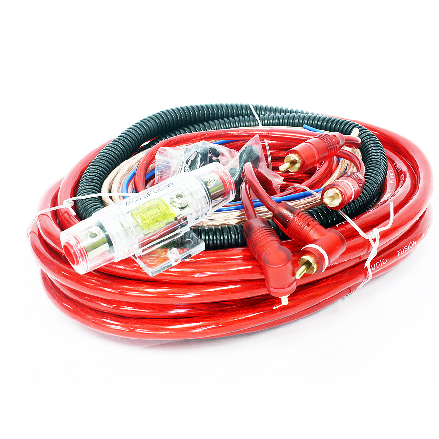 AudioFusion 4gauge Professional Car Audio Wiring Kit